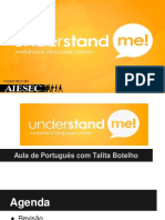 Understand Me - AULA 3 curso de portugues