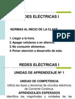 Redes Eléctricas I Clase 4