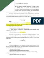 Cálculo Do Casco Do Vaso de Pressão Cilíndrico