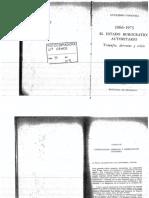 ODonnell, Guillermo - Capitulo III en El Estado Burocrático Autoritario 1966-1973