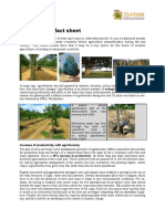 Agroforestry Fact Sheet
