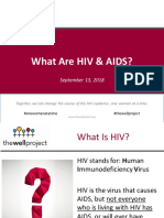What Are Hiv and Aids.9.2018