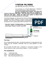 DayStar Filters Magnesium Quark User Manual