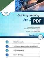 Gui Programming in Java523