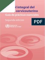 Control Integral Del Cáncer-CervicoUterino