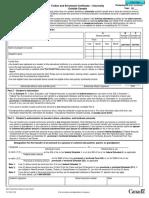 canadian tax form