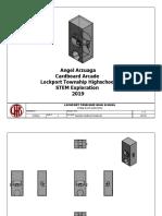 assembly cardboard arcade