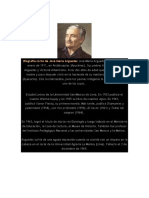 Biografía Corta de José María Arguedas