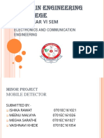 Mobile Detector PROJECT