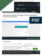 Historial de Navegación de Google_ Cómo Ver, Descargar o Eliminar Tus Búsquedas