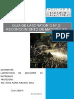 Laboratorio de Reconocimiento de Materiales