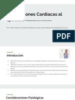 Adaptaciones Cardíacas Al Ejercicio (Fisiología Del Ejercicio, Cap 17 y 18, Lopez Chicharro)
