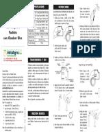 Instrucciones Kit Fosfato Agua Riego Hi38061 Hi38077