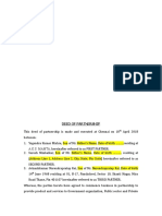 Partnership Deed - Metro Drugs - Final 1