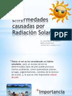 Enfermedades Causa Por Radiación Solar
