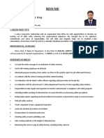 Ihsan Ul Haq Safety Officer Resume