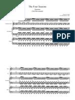 Antonio Vivaldi - Summer - 3rd Movement - (Arr. Klobodanovic Ado) - Score and parts.pdf