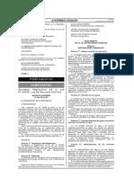 Reglamento de La Ley 29338 Ley de Recursos Hídricos