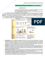 Imunologia - Sistema Imune Inato