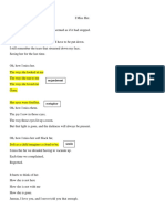 original poem assignment