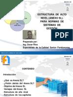 Presentación Anexo  SL