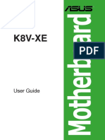 ASUS K8V-XE User's Manual for English Edition