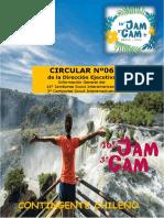 Circular 6 de La Direccin Ejecutiva JAMCAM 2020