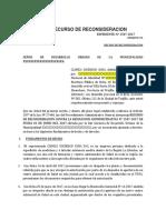 MODELO RECURSO DE CONSIDERACION PARA OSCE