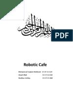 Robotic Cafe