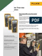 Fluke 170 Series True-RMS DMMs Technical Data