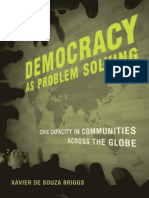 Briggs - Democracy as Problem Solving. Civic Capacity in Communities Across the Globe (2008)