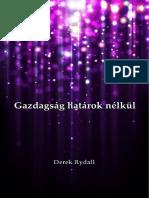 Derek Rydall - Gazdagság határok nélkül
