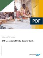 SAP Leonardo IoT Bridge_Security_Guide