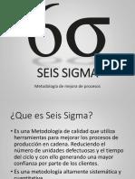 6-Seis Sigma Exposicion