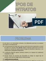 Tipo de Contrato - Documentacion contable y