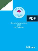 Folksam Bicycle Helmet Test 2015