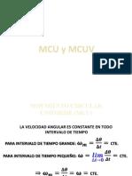 MCU y MCUV