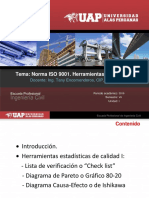 Unid I_Sem 3_Norma ISO 9001-Herramientas de Calidad I UAP