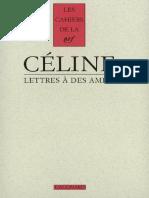 Louis-Ferdinand Céline - Lettres à des amies.pdf