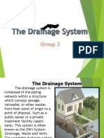 The Drainage system of a house