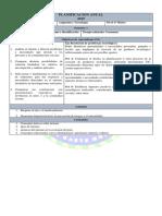 Planificación Anual Octavo Tecnología 2019
