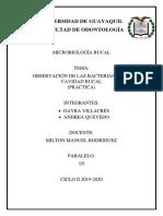Practica 1 microbiologia bucal