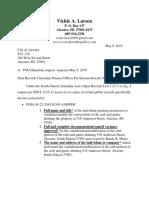 Foia 05-09-2019 Reiteration Select