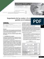 La Importancia La Contabilidad de Gestión en El Contexto Empresarial