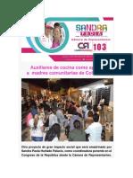 Auxiliares de Cocina Como Apoyo a Madres Comunitarias de Colombia