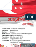 Singapore History and Current