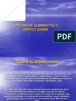 Cadena de Suministro y Supply Chain