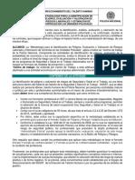1dh-Gu-0015 Metodología Para La Identificación de Peligros, Evaluación y Valoración de Riesgos Laborales y Estimación de Controles en Las Unidades Policiales