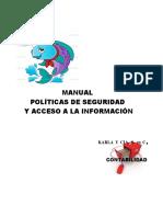 Manual de Politicas de Seguridad de La Informacion 2016
