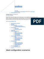 Disk Configurations